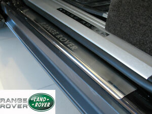 Range-Rover-L322-Vogue-2002-12-Stainless-Steel-Door-Sill-Covers-Scuff-Protectors