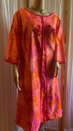 Vintage PARADISE HAWAII smock dress