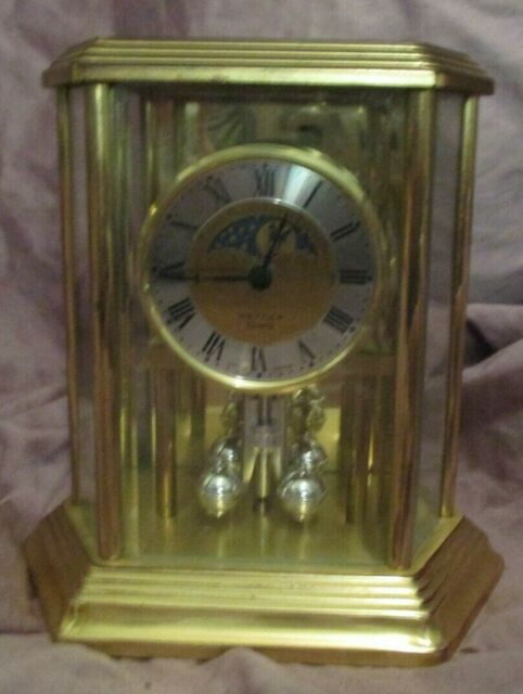 Styled Mechanical Operated Mantel Clock