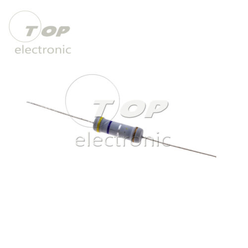 50PCS//100PCS 0.47R Ohm 2W Watt Carbon Film Resistors ±5/% NEW