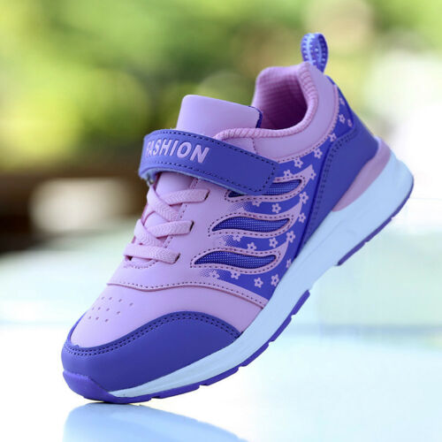 Children  Girls Sports Athletic Running Sneaker Shoes  Breathable Trainer Jogger