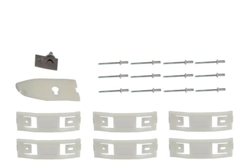 MCLP7 1967 1968 Mustang Rocker Panel molding Hardware Clips Set Right Side Dii