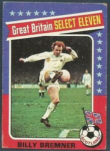 TOPPS 1975 FOOTBALLERS #193-DERBY CO./& ENGLAND-SELECT ELEVEN-COLIN TODD