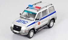 """UAZ 3163 Patriot """"Russian Police"""" 2010 (DiP 1:43 / 231632)"""