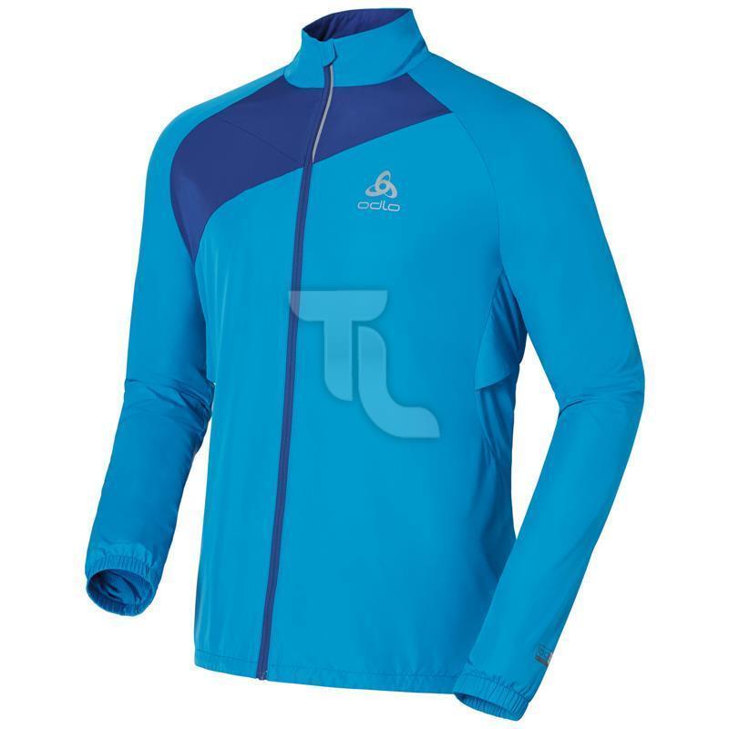 Odlo Logic Timer corre chaqueta señores chaqueta aerobic caminar  nuevo azul triathlonladen  costo real