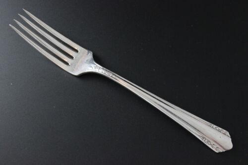 1934 MALIBU Oneida Wm A Rogers Silverplate Dinner Fork