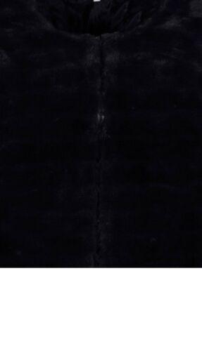 Gr Mantel 1018950317 44 Schwarz Jacke Webpelz Marken w1Azxq