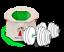 Toepfchen-Einwegtoepfchen-Reisetoepfchen-Toilettentrainer-Toilettensitz-Tron Indexbild 4
