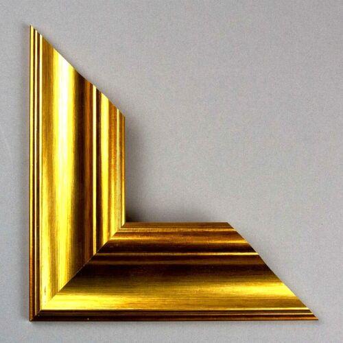 Vienna Bilderrahmen Echtholz Gold Vintage Größenwahl Barock Rahmen