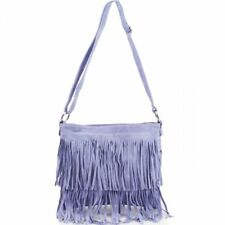 4d6449748800 item 2 Womens Real Suede Leather 2 Fringe Tassel Crossbody Ladies Shoulder  Festival Bag -Womens Real Suede Leather 2 Fringe Tassel Crossbody Ladies  Shoulder ...