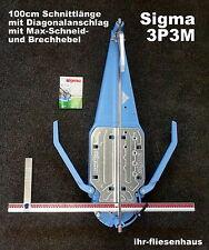 Sigma Profi Fliesenschneider 3P3M 100cm Neueste Version MAX mit Diagonalanschlag