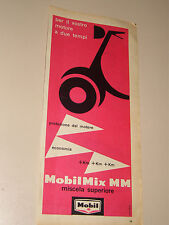 MOBIL OIL CON VESPA PIAGGIO=ANNI '50=PUBBLICITA=ADVERTISING=WERBUNG=495