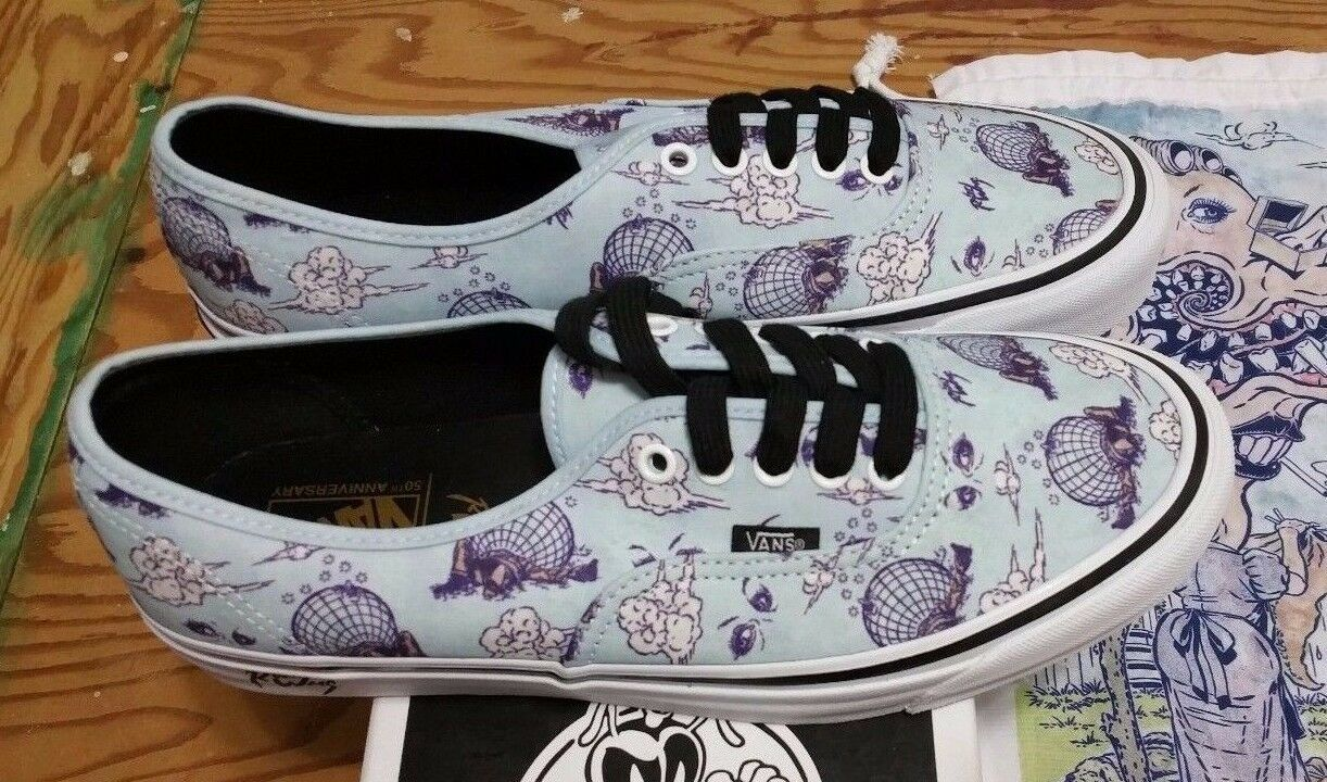 Vans Vault X  rt Williams authentic 44 LX  Malfeasance  pour homme Taille 11 US Robt