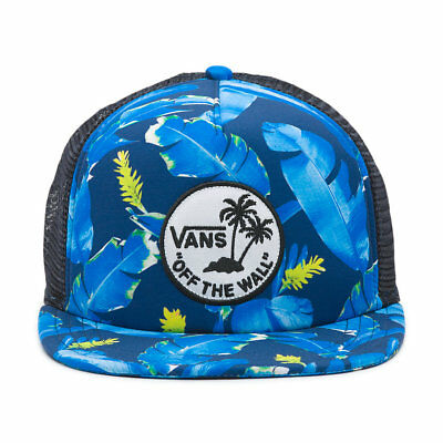 b67b9f4e5fda29 Vans - SURF PATCH Trucker Hat (NEW) Snapback Mens Cap OFF THE WALL Free