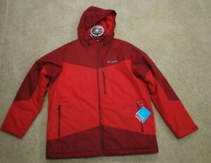 Columbia Wister Slope Insulated Mens Jacket Coat Red XL ...