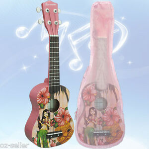 Soprano-Ukulele-Kids-Guitar-Basswood-Nato-neck-Timber-with-Matching-Carry-Bag