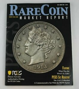 Details about RARE COIN Market Report July / August 2018 PCGS Price Guide  Magazine