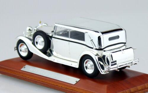 Maybach Zeppelin CROMATO 1:43 Ixo//Altaya modello di auto//DIE-CAST