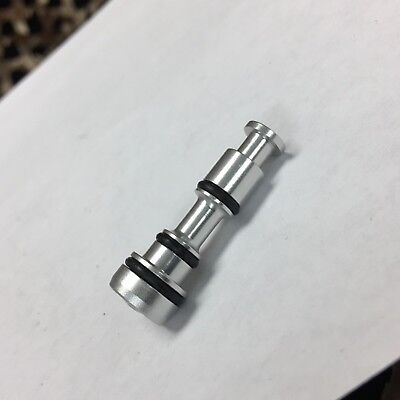 Dust Silver NEW Custom Products CP Paintball DM8 Continuous Flow Plug
