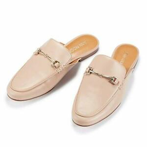 Women-039-s-Pink-Mule-Flats-Shoes-Pointed-Toe-Backless-Slipper-Slip-On-Loafer-Shoes