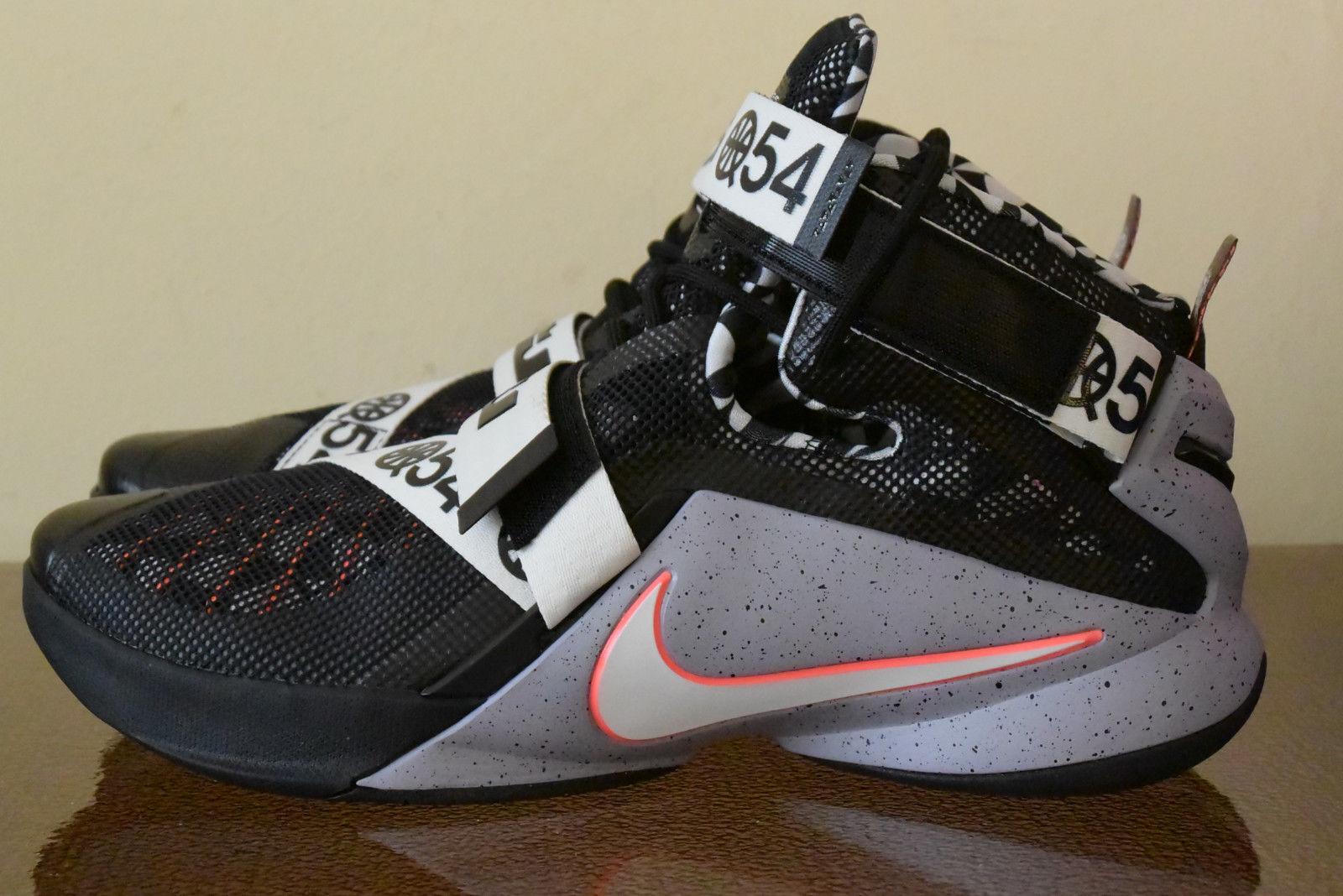 Nike Lebron Soldier IX LTD Quai 54 Limited Edition 810803-015 Sz. 12