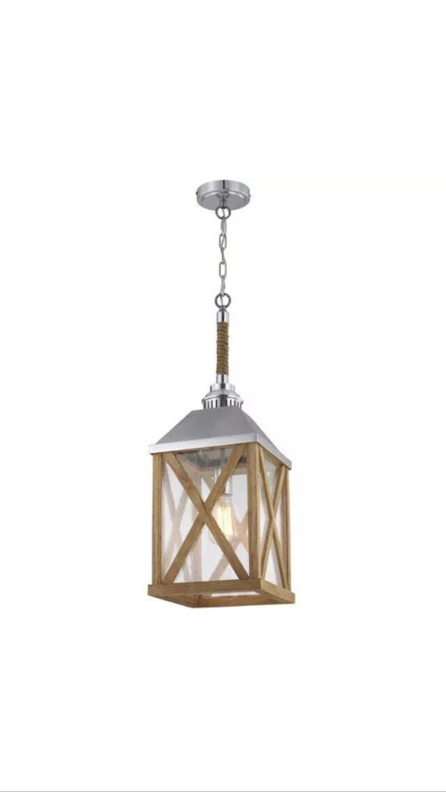Outdoor Hanging Lantern by Feiss - Classic Nautical Design -DEAL