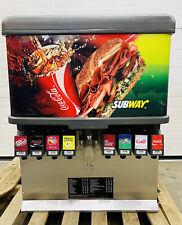 Cornelius Ed 250 Bcz 8 Flavor Fountain Beverage Dispenser Ice Dispenser Tested