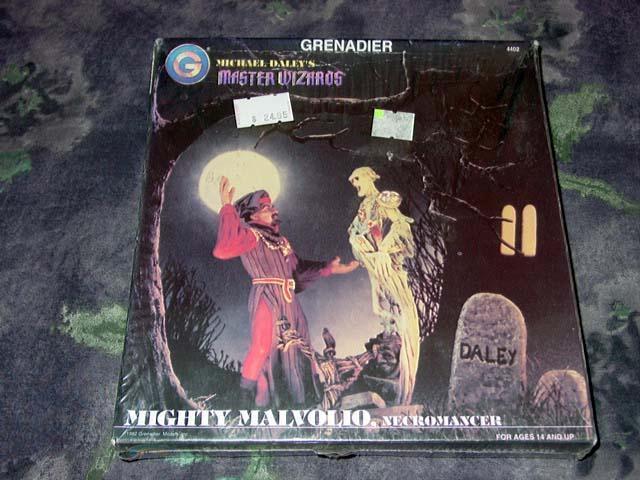 auténtico Grenadier Models 1992 - Mighty Mighty Mighty Malvolio - Master Wizards (SEALED) diorama kit  Centro comercial profesional integrado en línea.