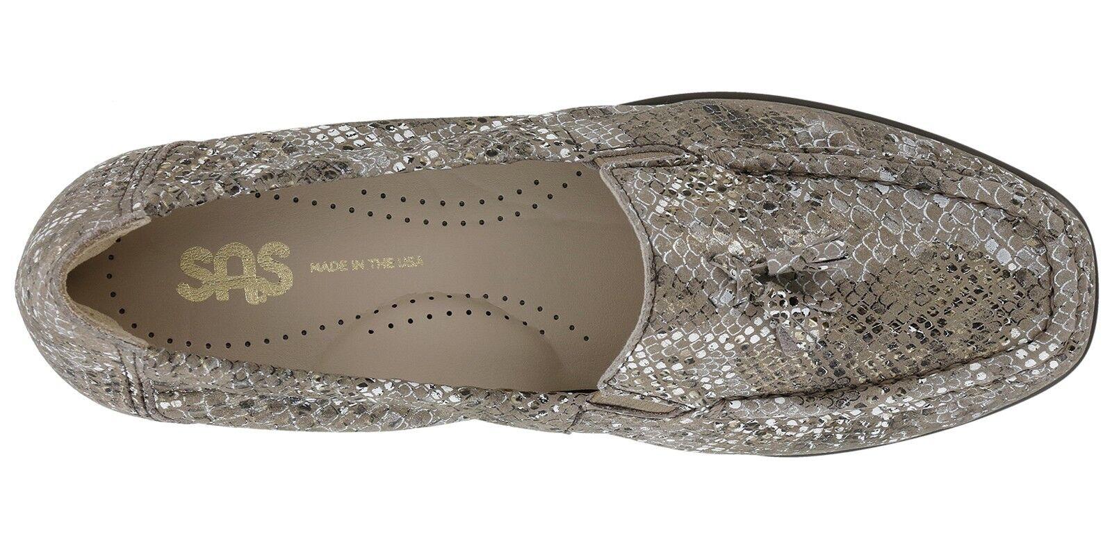 Nuevo En Caja-Servicio aéreo especial - para mujer Esperanza  - especial multisnake 'oro Mocasín Zapatos 3040-697 - 9.5 6140f7