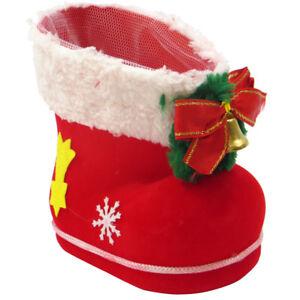 Calza-scarpa-stivale-decorazione-natale-natalizia-casa-albero-rigida-14x8x14cm