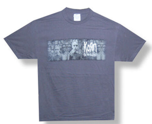 Korn-Untouchables-In The Crowd-Charcoal Gray T-shirt