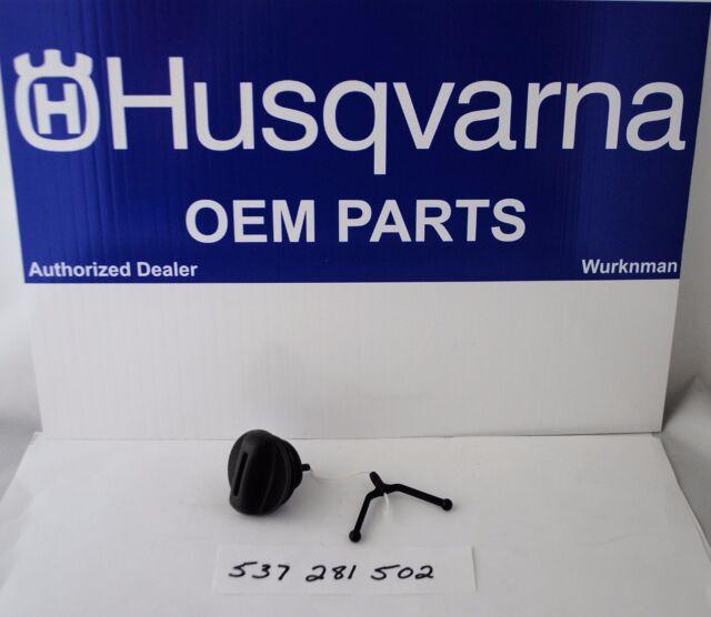 HUSQVARNA OEM 537281502  CHAINSAW OIL CAP  AKA 503903901