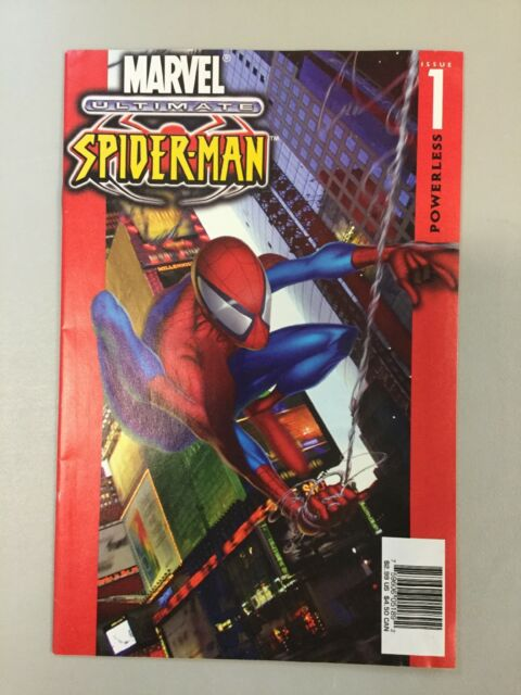 Ultimate Spider-man 1 Powerless Bendis Key 1st Appearance Marvel