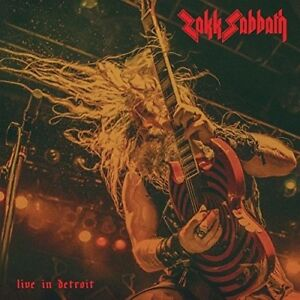 Zakk Sabbath Live A Detroit Arancione Vinile Lp Nuovo Ebay