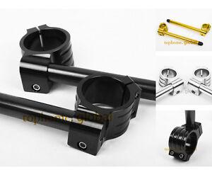 Moto-31-33-35-36-37-38-39mm-Adjustable-Clip-Sur-Guidon-CNC-Clip-ons-Bracelet-Alu