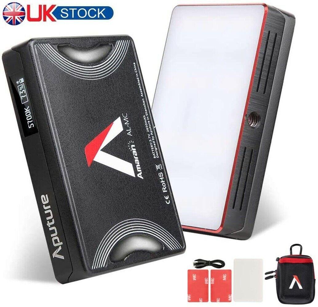 Aputure AL-MC Pocket Mini RGB On Camera LED Video Light 3200-6500K CRI/TLCI 96+