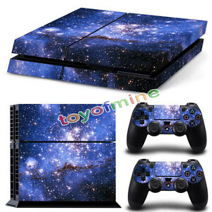 Fantasy-Game-Theme-Pegatina-Skin-PARA-Playstation-4-PS4-Console-Controller