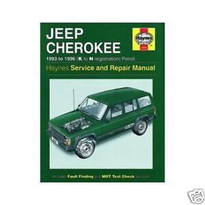1996 jeep cherokee repair manual