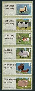NCR-TYPE-IIA-SHEEP-COLLECTOR-SET-6-incl-THE-EURO-20g-WORLD-10g-VALUE-POST-amp-GO