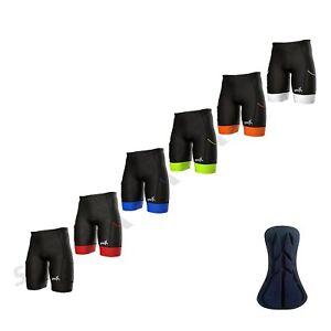 Sparx Mens Activate Tri Shorts Swim Bike Run Cycling Triathlon Shorts