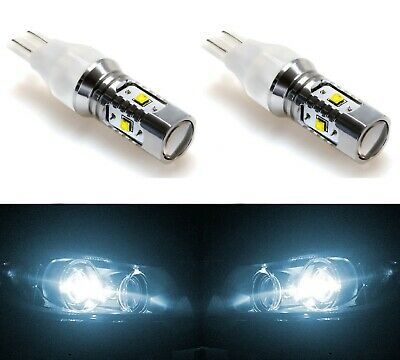 LED Light 30W 912 White 6000K Two Bulbs Back Up Reverse Plug Play Stock Fit Lamp