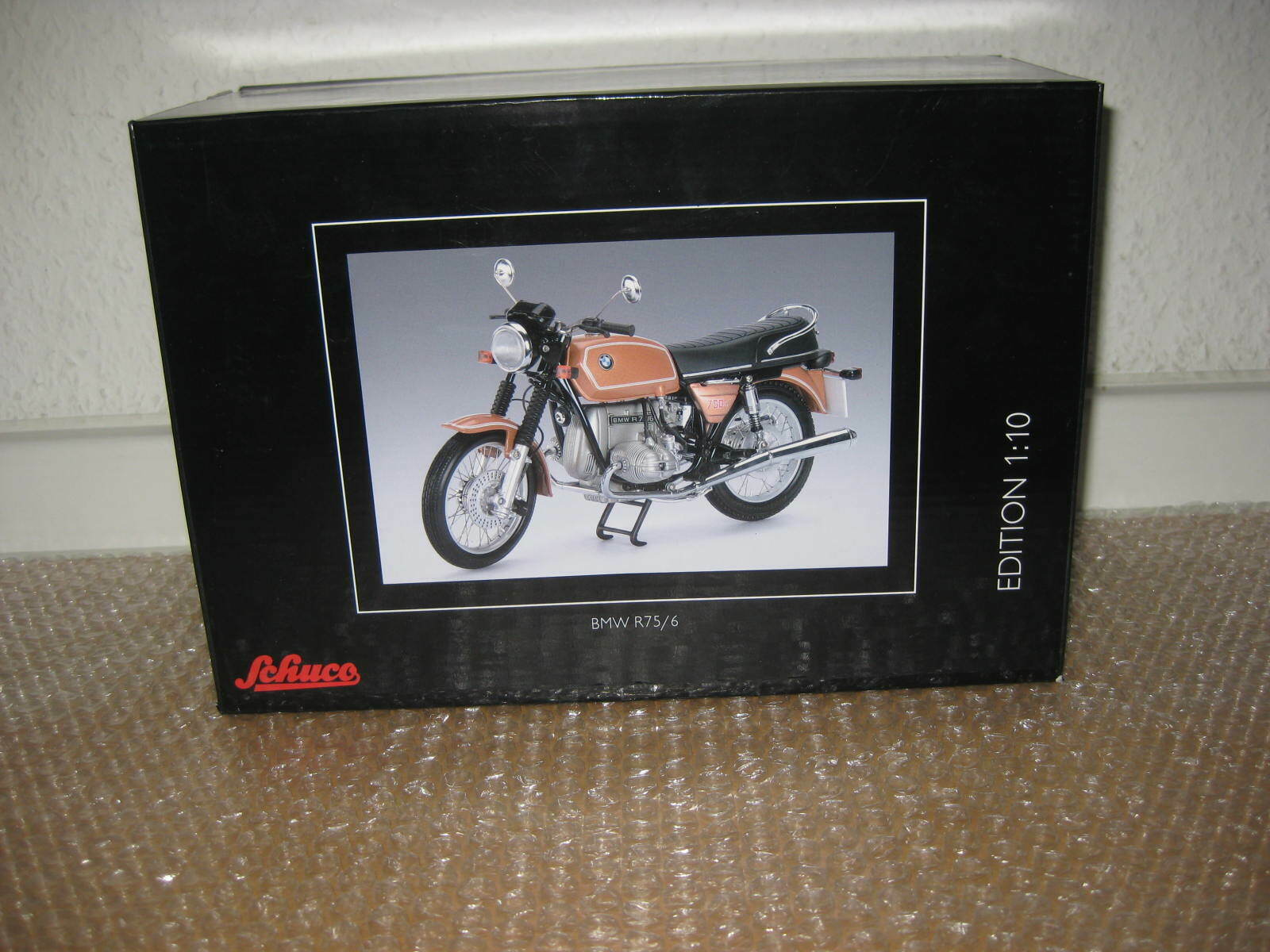 Schuco moto 1 10 bmw r75 6 nr.450656300 s527
