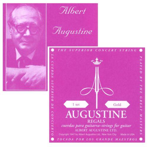 AUGUSTINE GOLD 1 SATZ SAITEN LOW TENSION 028-0425 CLASSIC GOLD UMSPONNEN
