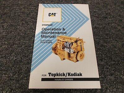 1990 1994 GMC Topkick Owner Operator Manual Caterpillar 3116