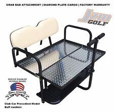 Rear Flip seat kit for Club Car Golf Cart Precedent model w/FREE Grab Bar-BUFF