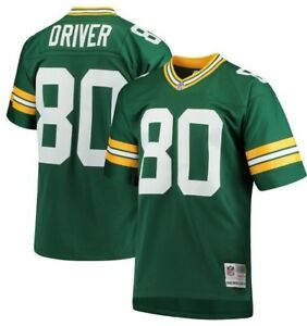Mitchell & Ness Donald Driver #80 NFL Green Bay Packers Green ...