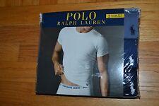 Polo Ralph Lauren Set of 3 Slim Fit Cotton Crew Assorted T-Shirts Size: Medium