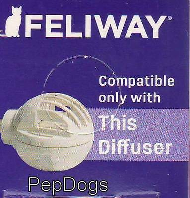 Feliway 48 ml REFILL Only for Plug in Diffuser Cat Feline Stress Behavior Relief