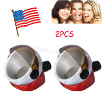 2x Usa Portable Dental Desktop Suction Base For Skilled Workers Dust Collector A