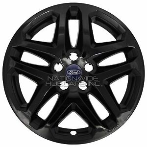 "Rims For Cheap >> 4 BLACK 13-16 Ford Fusion 17"" Wheel Covers Rim Skins Hub Caps fits Alloy Wheels 